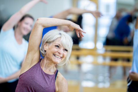 Fitness Class with Effective Integrative Healthcare