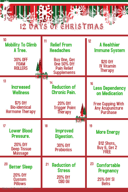 12 Days of Christmas 2019 Flyer